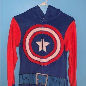 Captain America Onesie